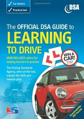 Official DSA Guide to Learning to Drive (Driving Skills) by Dsa Paperback Book