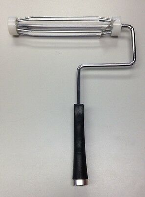 """Heavy Duty 5 Wire 9"""" Paint Roller Frame w/ Threaded Handle (NEW) (12B6)"""