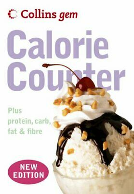 Collins Gem - Calorie Counter, Collins UK Paperback Book The Cheap Fast Free