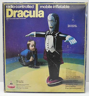 Dracula Union Major 1980 Radio Controlled Inflatable Universal Monsters Toy