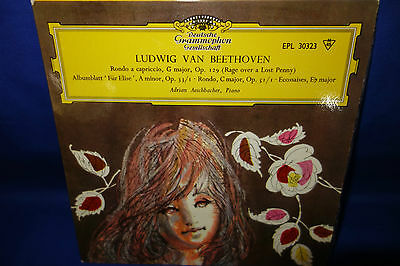 Dgg 30323 Epl *adrian Aeschbacher* Beethoven Rondo Rage Over A Lost Penny