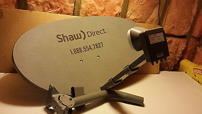 New Shaw Direct 60e Elliptical Dish with XKU LNB (Triple Sat)