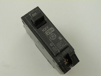 General Electric THQL1120 1p 20a 120v Circuit Breaker NEW 1yr Warranty