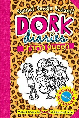 Dork Diaries: Drama Queen by Russell, Rachel Renee Book The Cheap Fast Free Post