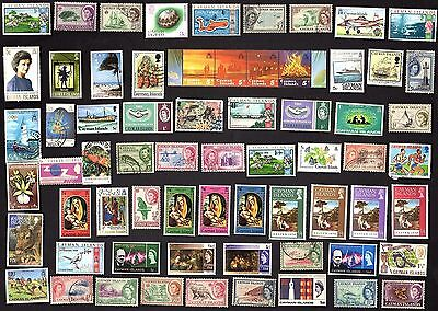 75 All Different CAYMEN ISLANDS   STAMPS