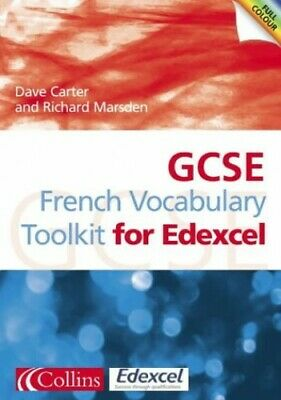 GCSE French Vocabulary Learning Toolkit for Edexce... by Carter, David Paperback
