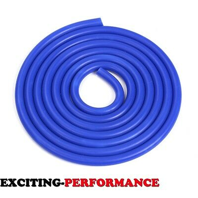 Silicone Vacuum Hose Turbo Coolant Dump Radiator Tube Air Pipe 1 Foot Blue