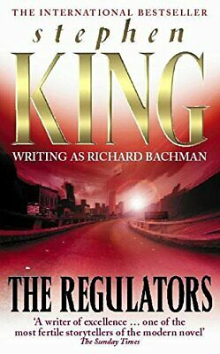 The Regulators, King, Stephen Paperback Book The Cheap Fast Free Post