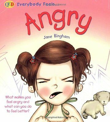 Angry (QED Everybody Feels), Qed Paperback Book The Cheap Fast Free Post