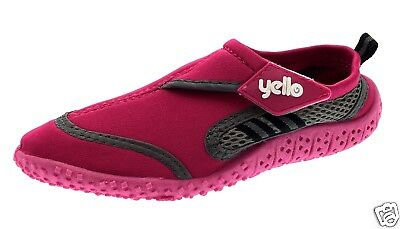 Yello Wetsuit Child Water Shoes - Pink Size 2/34/35 - Beach Aqua River & Pool