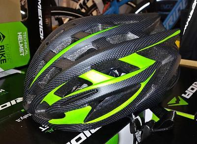 Casco MERIDA BIKES MV88 (55-58cm, nero verde)