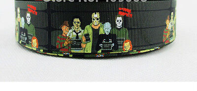 Icons of Horror Ribbon Freddy Krueger Jason Voorhees Ash Williams Michael Myers