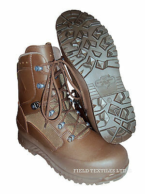 HAIX Combat Leather Boots - Brown - British Army - MTP - Mans/Male - NEW