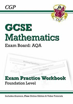 GCSE Maths AQA Exam Practice Workbook with answers & online edn:... by CGP Books