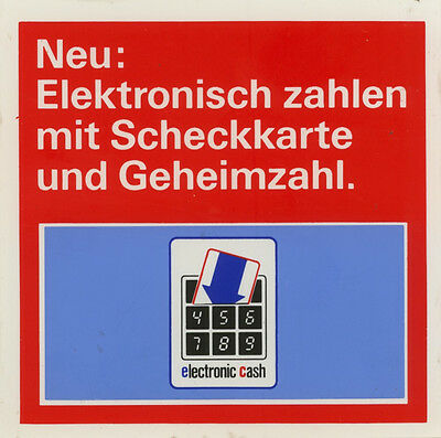 Original German Sticker