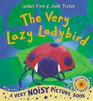 The Very Lazy Ladybird Picture Book with Sounds - New paperback book