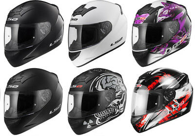 Ls2 F351 F352 Full Face Motorcycle Motorbike Helmet One  Wolf Fluo X-Ray Flutter