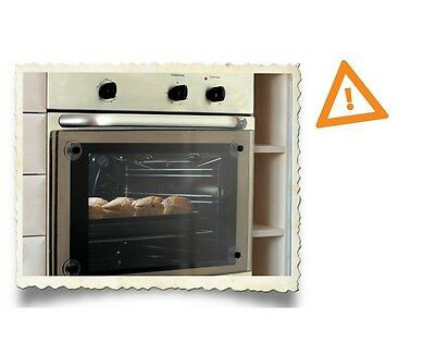 Brand New In Box Clevamama Baby Safety Transparent Oven Door Guard