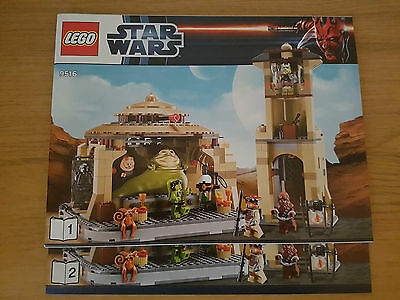 LEGO STAR WARS - 9516 Jabba's Palace - INSTRUCTION MANUAL ONLY
