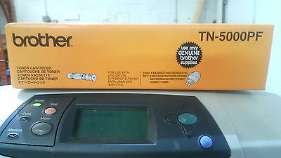 Genuine Brother TN-5000PF toner cartridge for Fax-1030, Fax-3550, Fax-3650, Fax-