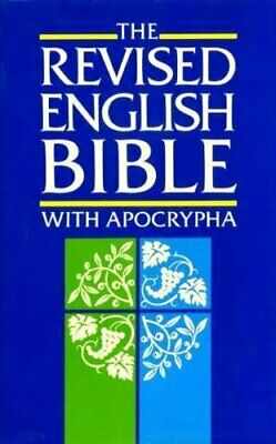 Bible: Revised English Bible with Apocrypha Hardback Book The Cheap Fast Free