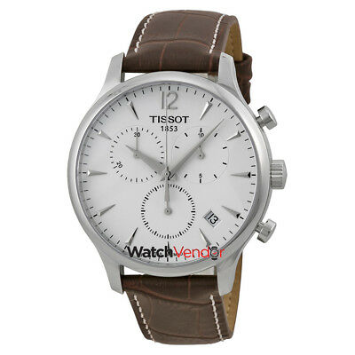 tissot t classic tradition chronograph leather men watch tissot t classic tradition chronograph mens watch t0636171603700