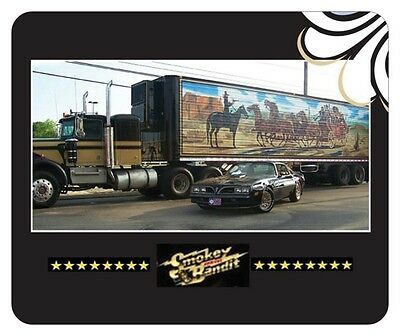 Smokey And The Bandit Mouse Pad - Novelty Collectors Item - 1977 Trans Am