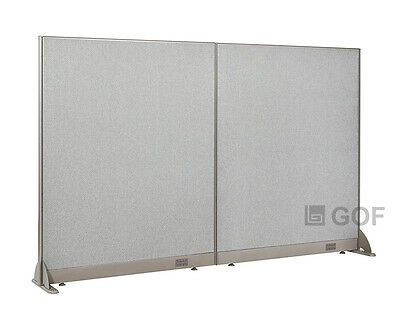 "GOF Office Freestanding Partition 96""W x 60""H / Office Divider"