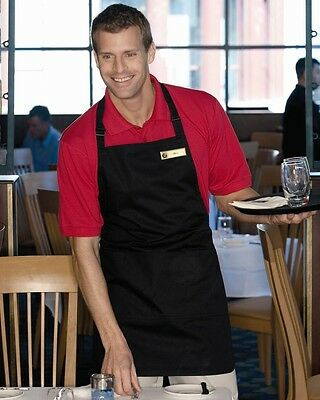 FeatherLite - Full Apron-6013 Stain-resistant with Teflon® protector & 3 pockets
