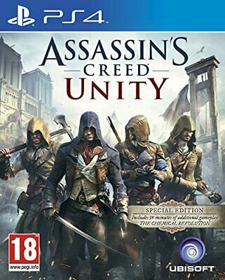 Assassin's Creed Unity (PS4) - Game  HKVG The Cheap Fast Free Post