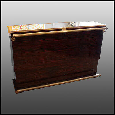 Bar Art Deco en ébène de macassar/ macassar ebony bar