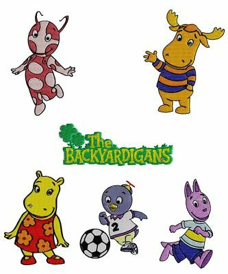 BACKYARDIGANS Machine Embroidery Design SET of  6