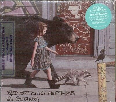 Red Hot Chili Peppers The Getaway Sealed Cd New 2016