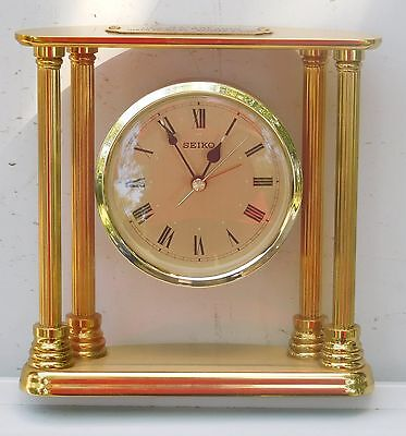 Seiko Brass (GOLD) Dial Floating Table Clock