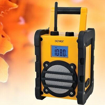 Hi-Fi Sound work Radio Outdoor workshop Construction site portable AUX-IN robust