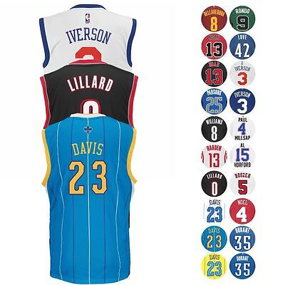 Nba Official Players Team Replica Jersey Collection By Adidas - Men's
