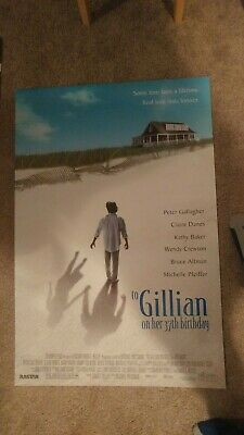 To Gillian On Her 37 Birthday(1996) Original Movie Poster 27x40 Double Sided