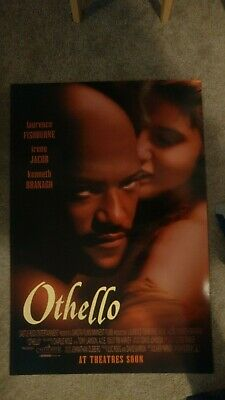 Othello (1995) Original Movie Poster 27x40 Laurence Fishburne Kenneth Branagh
