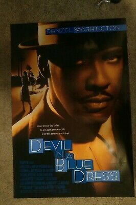 Devil In A Blue Dress (1995) Original Movie Poster 27x40 Denzel Washington