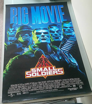 Small Soldiers Original Movie Poster 27x40 Double Sided Kirsten Dunst