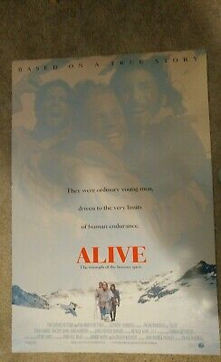 Alive Original Movie Poster 27x40 Ethan Hawke
