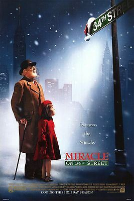 Miracle on 34th Street Original Movie Poster 27x40