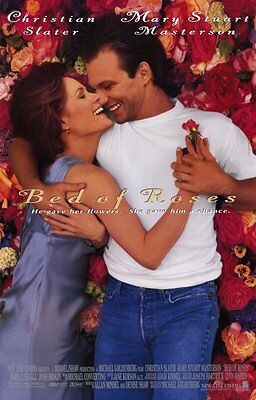 Bed Of Roses (1996) Original Movie Poster 27x40 Christian Slater