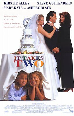 It Takes Two (1995) Original Movie Poster 27x40 DS Daniel Stern