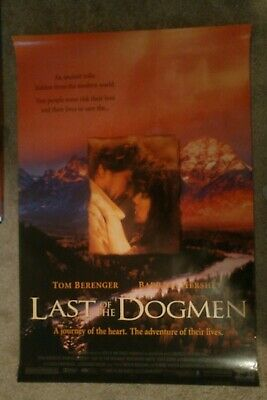 Last of the Dogmen Original Movie Poster 27x40