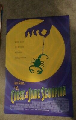 Curse of the Jade Scorpion Original Movie Poster 27x40 Double Sided Woody Allen