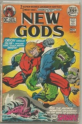 New Gods #5 DC Bronze Age (1971) Comic Book FN/FN+ (Young Gods App.)