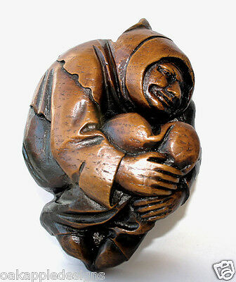 Medieval Monk Reproduction Lincoln Cathedral Carving Handmade unique Church Gift