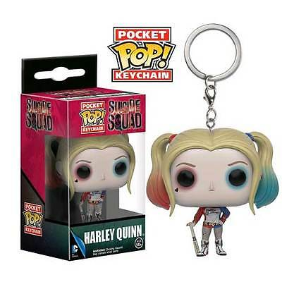 Suicide Squad - Harley Quinn Pocket Pop! Keychain NEW Funko