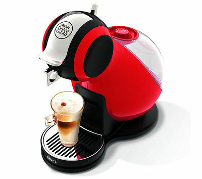 NESCAFE Dolce Gusto Melody 3 Manual Coffee Latte Machine  Red by Krups KP220540